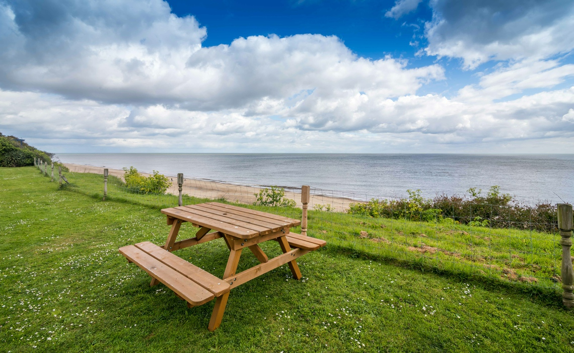 Hickling chalet at Great Yarmouth on the Norfolk coast at Beachside Holidays Norfolk